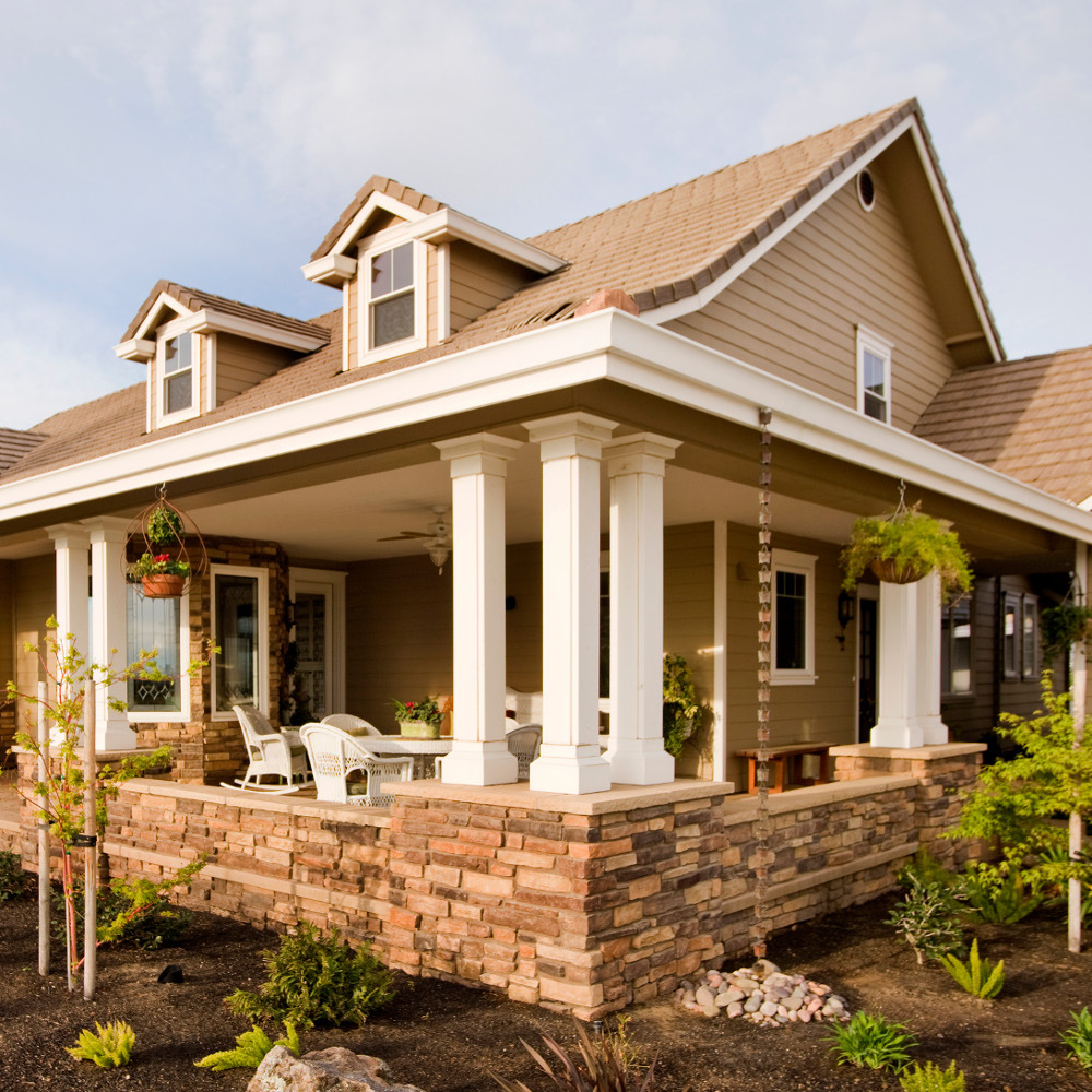Custom home builders.